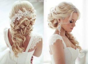 Revlon blonde wedding hair down.